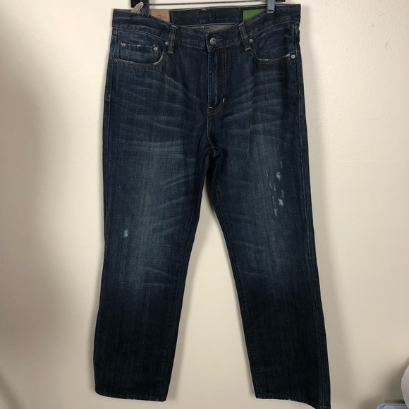GAP Other - GAP straight fit men's distressed jean size 33x34